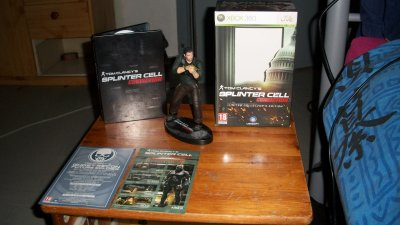 splinter cell conviction �dition collectors